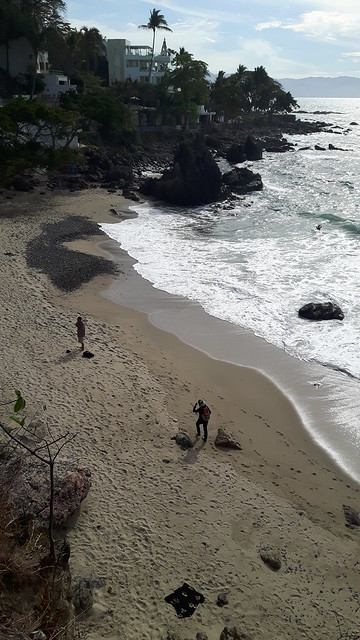 View of Playa Amapas from above