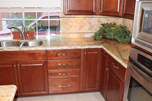 Custom Cabinets Water Iris