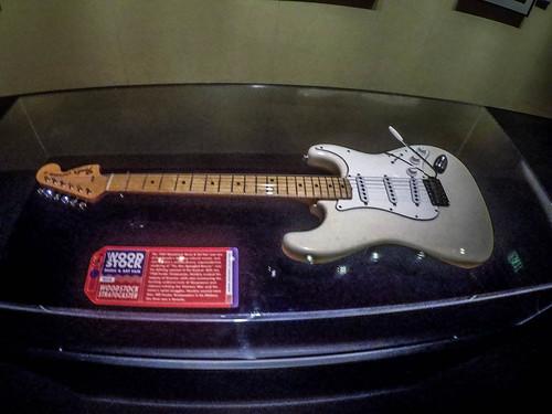 Jimi Hendrix Fender Stratocaster from Woodstock