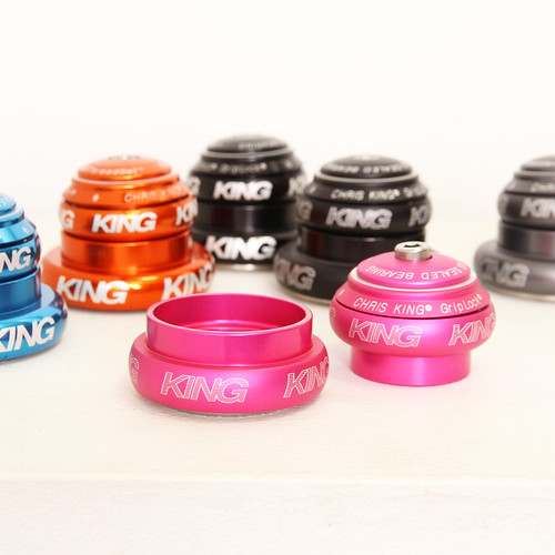 """Chris King / NoThreadSet Tapered 1.25"""" or 1.5"""" / Various colors"""