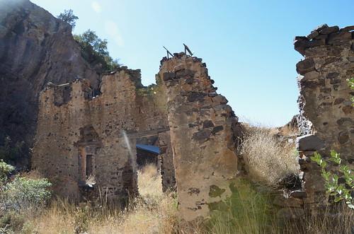 Las Cruces - Oran Mountian resort remains
