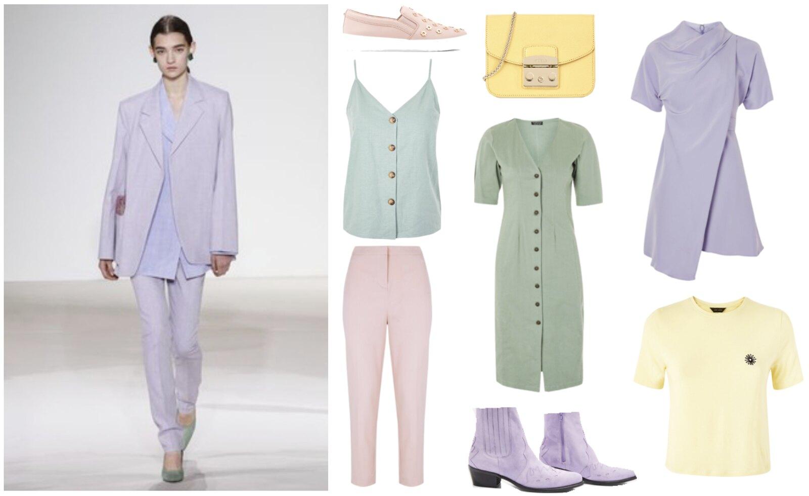 Miten yhdistää kevään trendit, pastellit