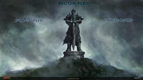 Ruga rex Fulgoris Caligonis