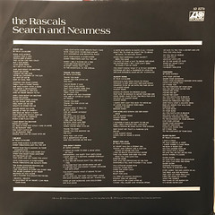 THE RASCALS:SEARCH AND NEARNESS(INNER 1)