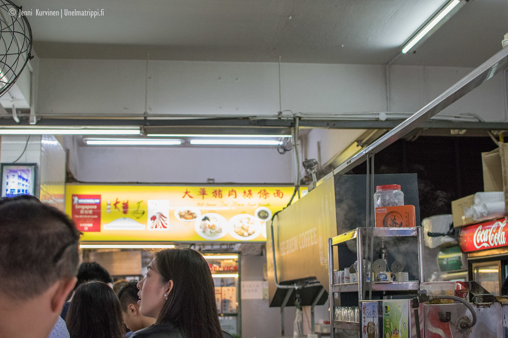 Hill Street Tai Hwa Pork Noodlen jonossa