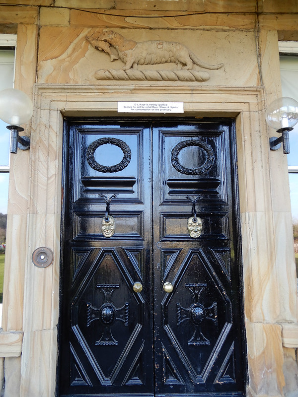 Walton Hall Front Door