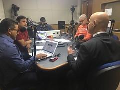 Secretário Marcelo Caetano em entrevista à Rádio 101 FM, de Campina Grande