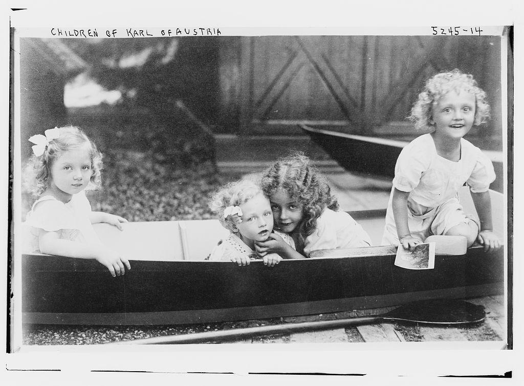 Children of Karl of Austria (LOC)