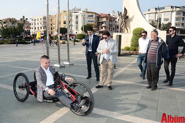 Alanya'da 'Hand Bike' engelleri kaldıracak-4