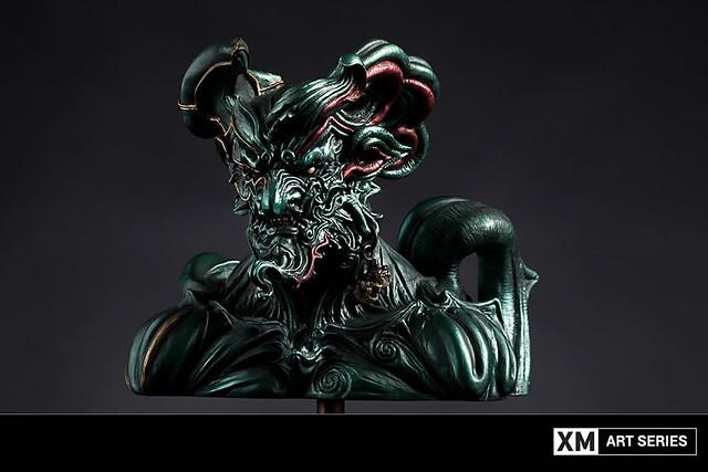 鬼才原型大師「竹谷隆之」傑作再登場!!XM Studios Art Series【OGRE GOD[nikne-kamuy] 藍色限定版】Ogre God Bust Blue Variant EX ニクネカムイ 胸像作品