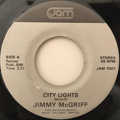 JIMMY MCGRIFF:CITY LIGHTS(LABEL SIDE-A)