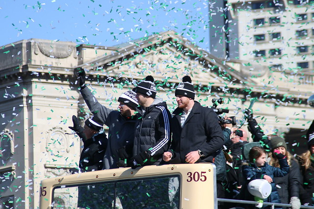 EAGLES PARADE PHOTOS