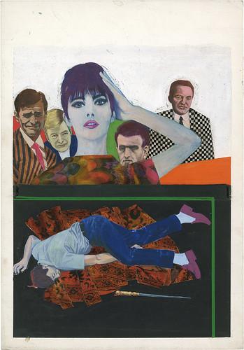 Gianluigi Coppola_The Case of the Curious Bride_1966, mixed media_copyright Lever Gallery