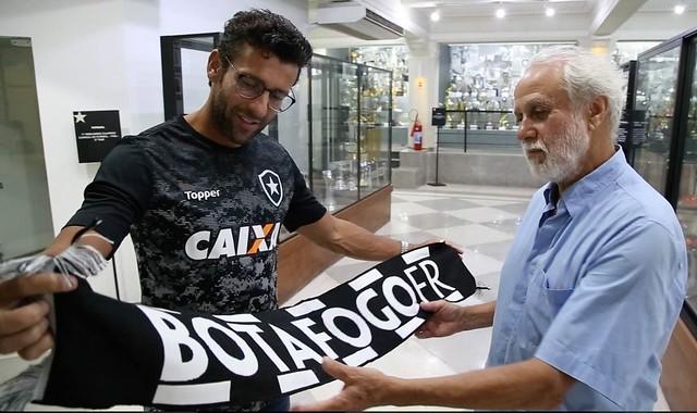 Alberto Valentim e Afonsinho - Centro de Memória BFR