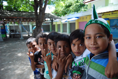 Young Indonesian soccer fans. From A Geek in Indonesia: Discover the Land of Komodo Dragons, Balinese Healers, and Dangdut Music