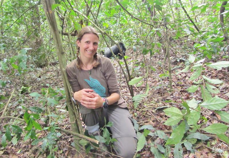 Gorilla trekking in Uganda - seeing my first gorilla in the wild