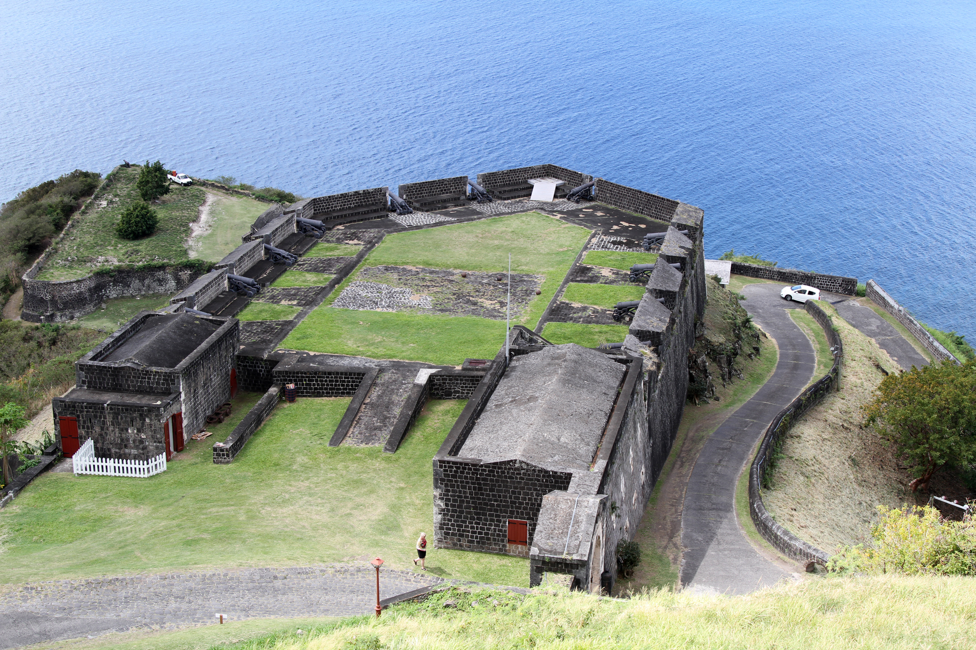 Brimstone Hill Fortress on Saint Kitts. Photo taken on February 17, 2012.