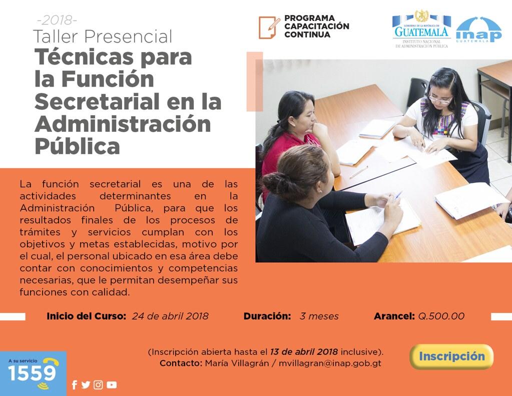 13 Tecnicas Funcion Secretarial
