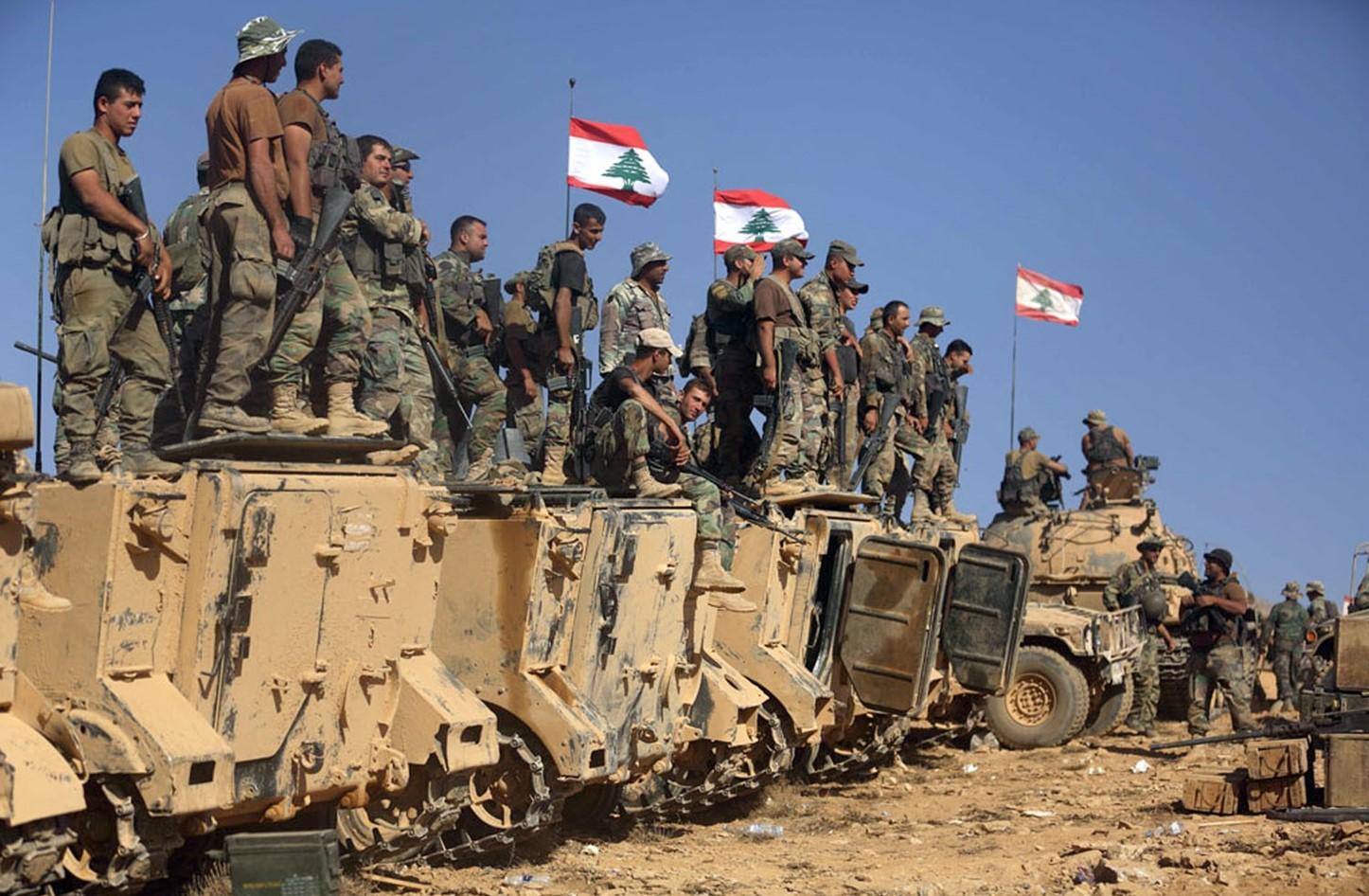 الجيش اللبناني على الحدود