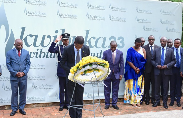 President of the Republic of Zambia, H.E Edgar Lungu visits Kigali Genocide Memorial  to pay respects to victims of the Genocide against the Tutsi