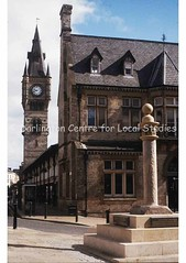 Market Cross, clock and old Town Hall