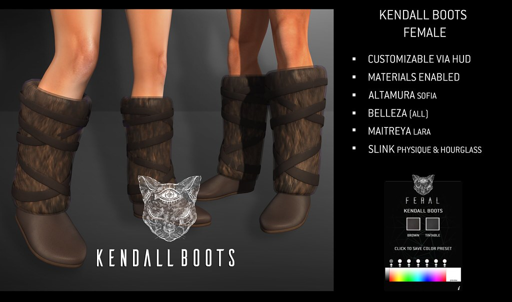 Feral – Kendall Boots [Female]