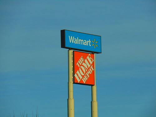 Walmart/Home Depot (Coventry, Rhode Island)