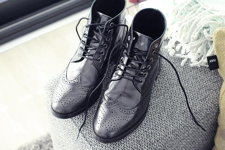 Nieuwe schoenen van Minelli