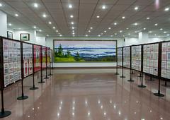 Philately stamps shop, Pyongan Province, Pyongyang, North Korea