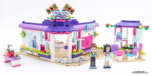 REVIEW LEGO Friends 2018 - LEGO 41336 Emma's Art Café