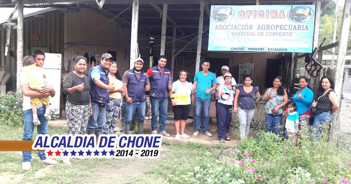 Alcaldía capacita a organizaciones agro productivas de Chone