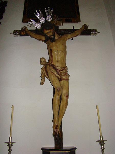 Cofradía del Santísimo Cristo de la Salud.