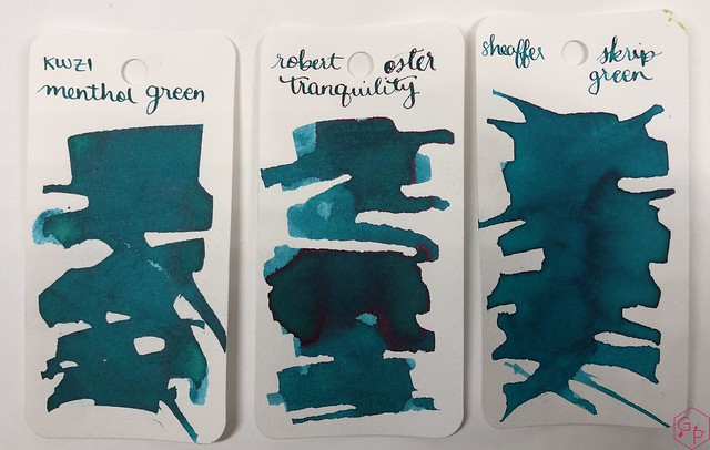 Ink Shot Review KWZI Menthol Green @AppelboomLaren 4