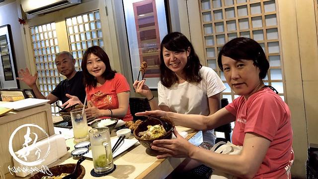 カウンターしかないTORI TORI♪ すんごい美味しい和食のお店でした♪