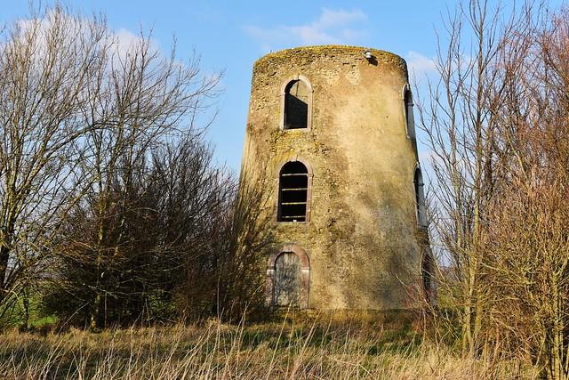 Le Moulin à Huile (The Oil Mill) near Guînes, Pas-de-Calais, France
