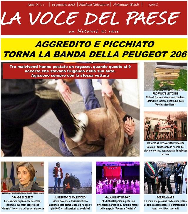 Noicattaro. Prima pagina n.1-2018 intero