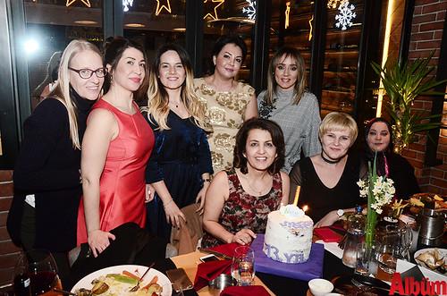 Monika Çetinkaya, Selma Özalp, Ceylin Ünal, Şemsat Çelik, Fatma Dalabasmaz, Esma Gökçe, Natali Nizamova, Fatma Ünal