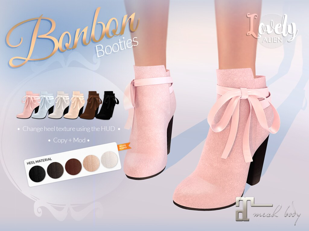 Bonbon Booties For: SaNaRae - TeleportHub.com Live!