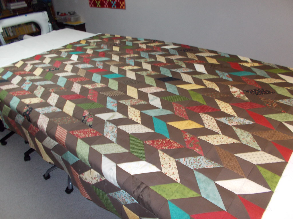 HST quilt by Sandi Walton at Piecemeal Quilts