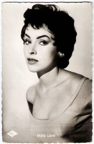 Mara Lane in Bonsoir Paris (1956)