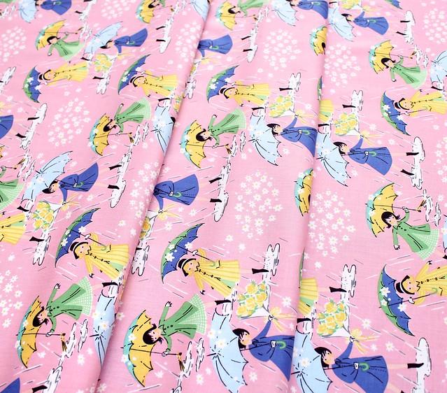 Penny Rose Fabrics Mae Flowers C6910 Pink Mae Main