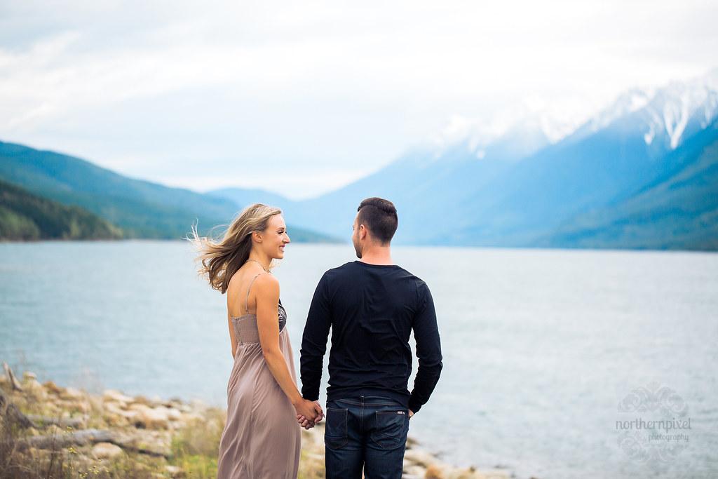 Engagement Session - Kinbasket Lake