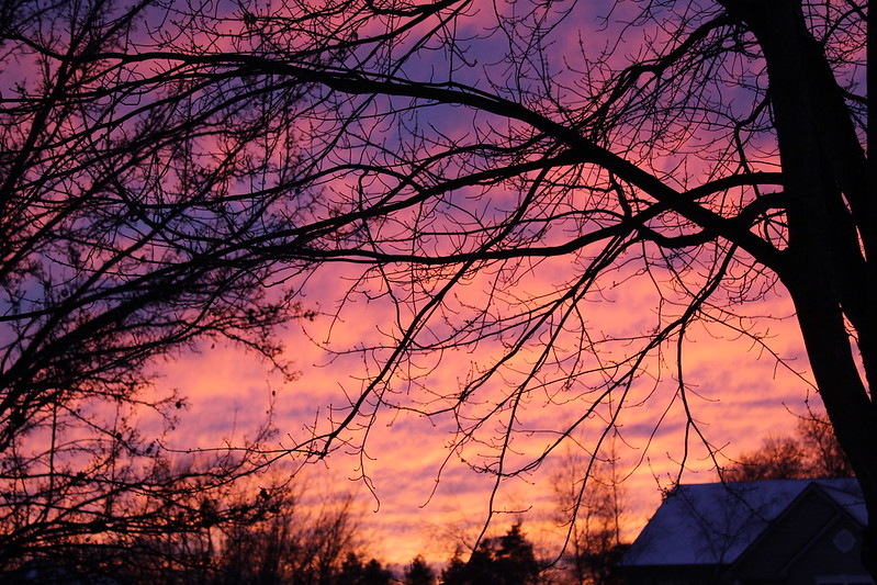 January Sunset Progression in West MI 1 12 17