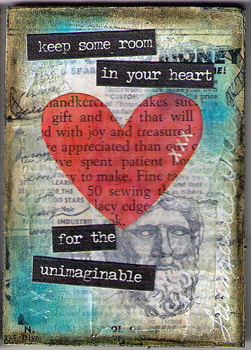 Mixed Media Hearts 4of5