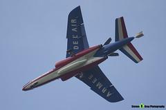 E95 0 F-TERQ - E95 - Patrouille de France - French Air Force - Dassault-Dornier Alpha Jet E - RIAT 2014 Fairford - Steven Gray - IMG_1649