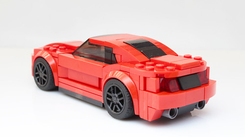 Lego Speed Champions Mustang GT moc/mod/no-stickers