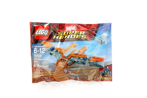 LEGO Marvel Super Heroes Avengers Infinity War The Guardians Ship 30525