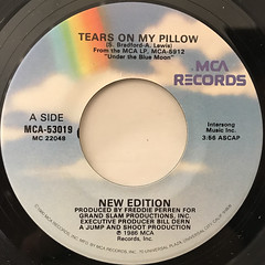 NEW EDITION:TEARS ON MY PILLOW(LABEL SIDE-A)