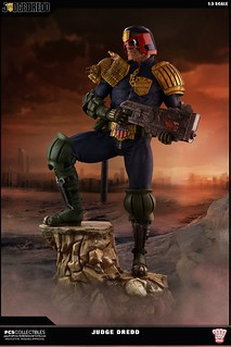I am the Law!!Pop Culture Shock【判官爵德】Judge Dredd Cursed Earth EX版 1/3 比例全身雕像作品