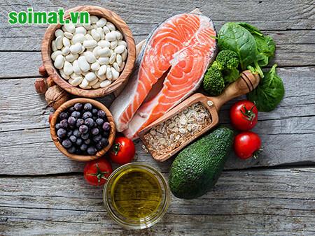 Chế độ ăn uống lành mạnh giúp ngăn ngừa bệnh sỏi mật